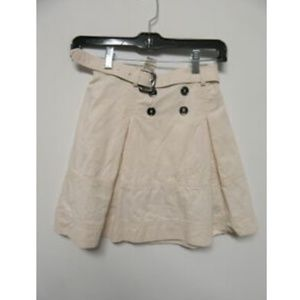 BURBERRY off white skirt girls sz 8Y